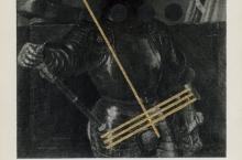 d-balliano-2012-untitled-duke-watercolor-and-acrilic-on-book-page-25x18